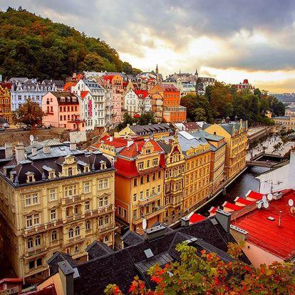 3–4 dny v hotelu u Karlových Varů s polopenzí