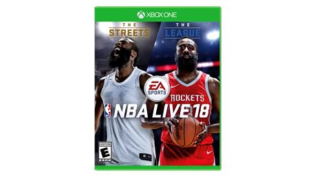 Hra EA Xbox One NBA LIVE 18 (5030938116899)