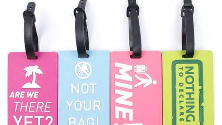 Vtipné jmenovky na zavazadla