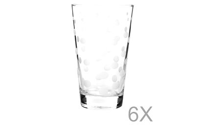 Sada 6 sklenic Mezzo Puro Malo, 395 ml