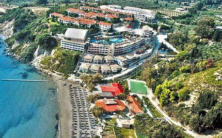Řecko - Zakynthos na 8 dní, all inclusive s dopravou letecky z Prahy 100 m od pláže