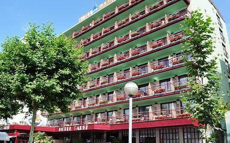 Španělsko - Costa del Maresme na 8 až 10 dní, polopenze s dopravou autobusem nebo letecky z Prahy 25 m od pláže