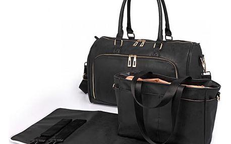 SET: Mateřská černá taška Blake 6638