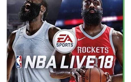 Hra EA Xbox One NBA LIVE 18 (5030938116899)