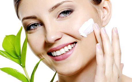Kosmetické ošetření pleti za 60 minut - čištění pleti luxusní kosmetikou + lymfodrenáž .