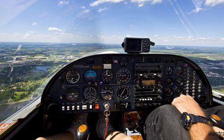 20minutový let nad Plzní a okolím