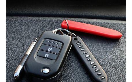 Klíčenka na telefonní číslo při ztracení klíčů
