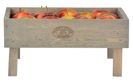 Stohovatelná přepravka z borovicového dřeva Esschert Design, výška19cm