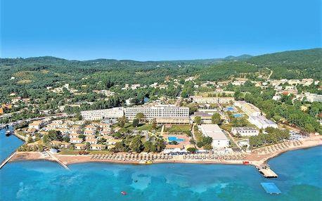 Řecko - Korfu na 8 až 9 dní, all inclusive s dopravou letecky z Brna nebo Prahy 20 m od pláže