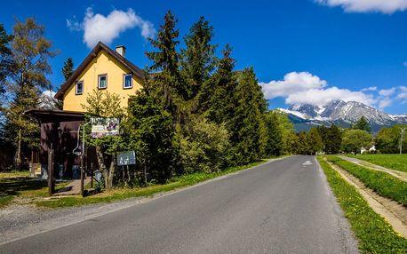 Léto ve Vysokých Tatrách u stezky korunami stromů