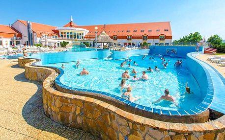 Maďarsko: termální wellness ve 4* hotelu
