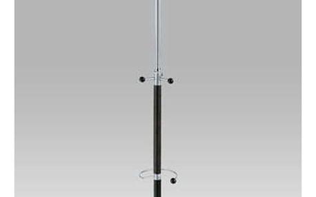 Věšák stojanový WJD848 výška 181 cm - alu/černá