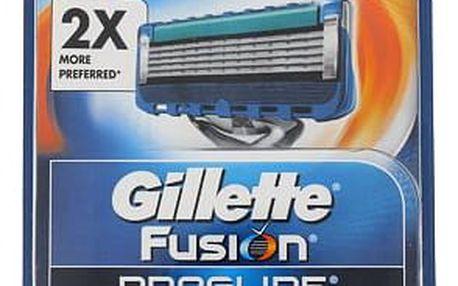 Gillette Fusion Proglide 4 ks náhradní břit M
