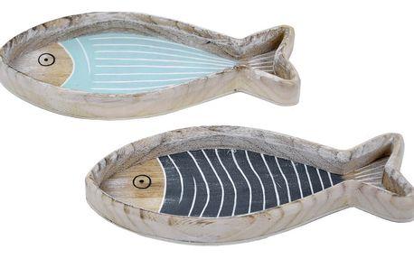 Sada 2 tácků s motivem ryby Ego Dekor