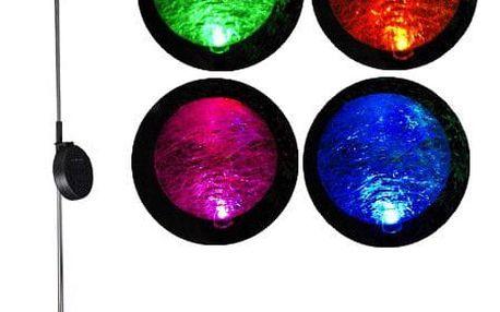 Garthen 306 Zahradní LED solární lampa skleněné koule se změnou barvy