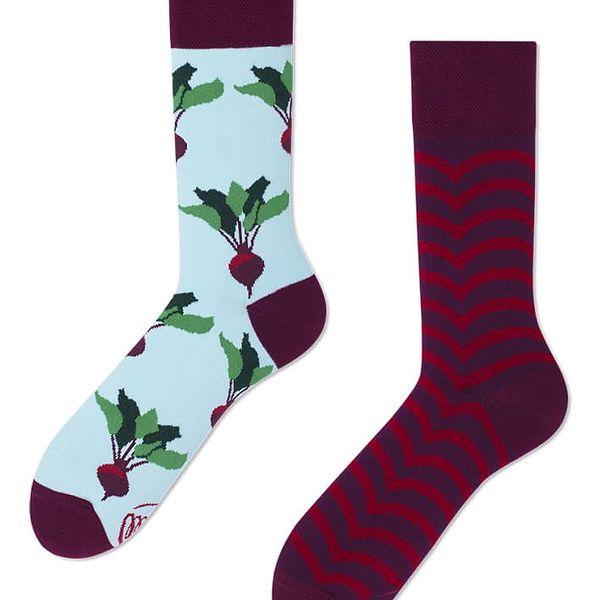 Ponožky Many Mornings Beetroots,vel.39–42