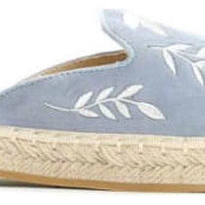 Dámské modré pantofle Palace 7240