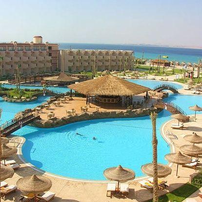 Egypt - Sahl Hasheesh na 8 dní, all inclusive s dopravou letecky z Brna nebo Prahy přímo na pláži