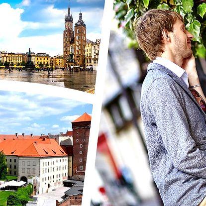 3denní pobyt pro dva v Krakově se snídaní. 1 dítě do 3 let má pobyt v pokoji rodičů zdarma.