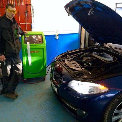 Kompletní péče o klimatizaci ve voze - Brno