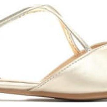 Dámské zlaté sandály Nice 027