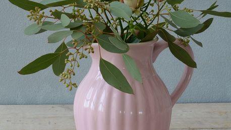 IB LAURSEN Džbán Mynte English Rose 1,7 l, růžová barva, keramika