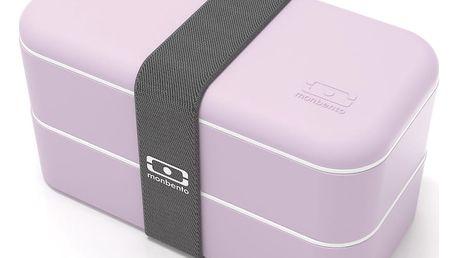 Růžový obědový box Monbento Original