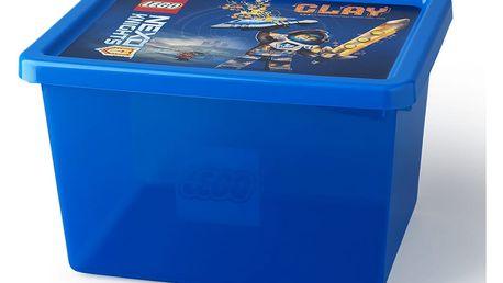 Modrý úložný box LEGO® NEXO Knights