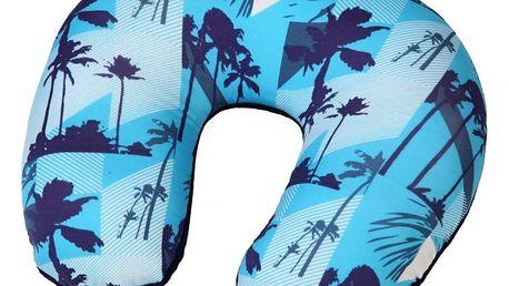 Modom Cestovní polštář podkova Palmy, modrá