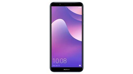 Mobilní telefon Huawei Y7 Prime 2018 modrý + dárek (SP-Y7P18DSLOM)