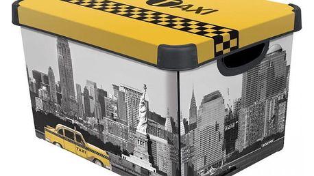 CURVER NEW YORK 33019 Úložný box s víkem L