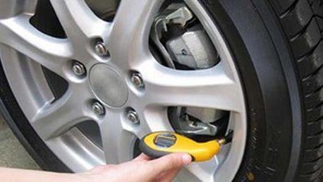 Digitální pneuměřič - dodání do 2 dnů
