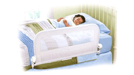 SUMMER INFANT Jednostranná zábrana na postel bílá