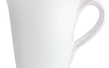 CÔTÉ TABLE Hrnek Blanc, bílá barva, keramika 400 ml