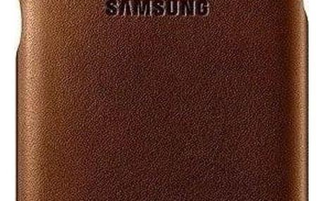 Kryt na mobil Samsung pro Galaxy S7 kožené (EF-VG930LU) béžový (EF-VG930LUEGWW)