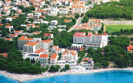 Chorvatsko - Baška Voda na 10 až 12 dní, polopenze nebo bez stravy s dopravou vlastní nebo autobusem