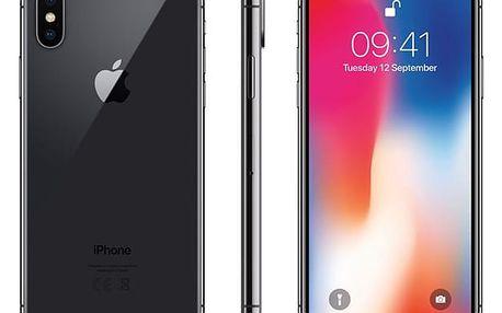 Mobilní telefon Apple iPhone X 64 GB - Space Gray (MQAC2CN/A) Software F-Secure SAFE, 3 zařízení / 6 měsíců v hodnotě 979 Kč + DOPRAVA ZDARMA