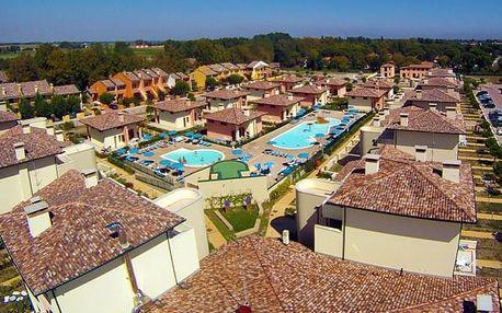 Itálie - Emilia Romagna na 8 dní, plná penze nebo bez stravy s dopravou vlastní 1000 m od pláže