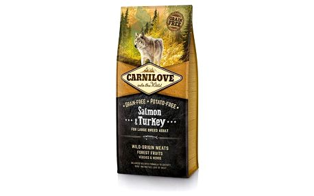 Brit Carnilove Salmon & Turkey for Large Breed Adult 12 kg