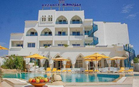 Tunisko - Nabeul na 8 dní, all inclusive s dopravou letecky z Brna nebo Prahy 100 m od pláže