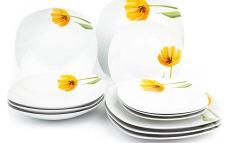 Domestic 12dílná jídelní sada Tulip 993800