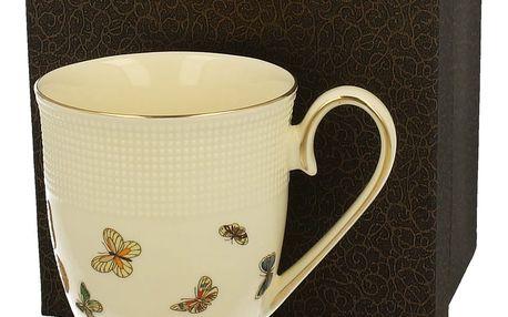 Hrnek Duo Gift Vanilla Butterflies, 330 ml