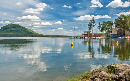 Rodinná letní pohoda u Máchova jezera s polopenzí