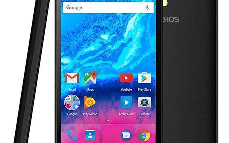 Mobilní telefon Archos Core 50 4G černý + dárek (503497)