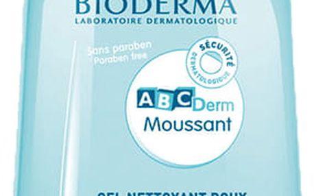 Bioderma Jemný čistící gel pro dětskou pokožku ABCDerm Moussant 1000 ml