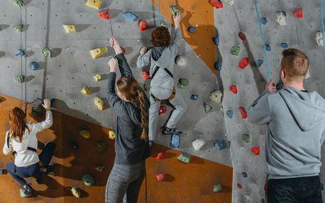 Kurz lezení na umělé stěně Ústí