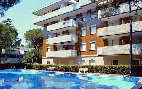 Itálie - Lignano na 8 dní, bez stravy s dopravou vlastní 150 m od pláže