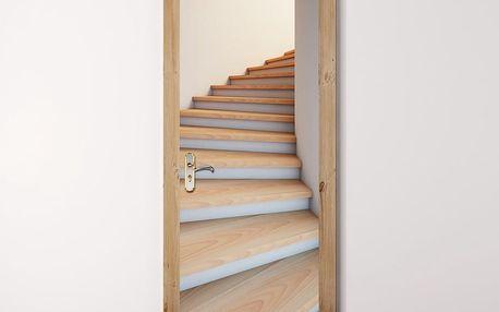 Tapeta na dveře WALPLUS Stairwell, 88 x 200 cm