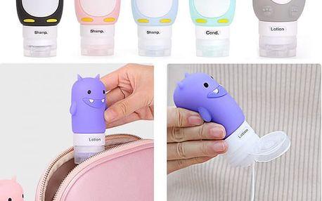 Originální cestovní silikonové lahvičky Cuties