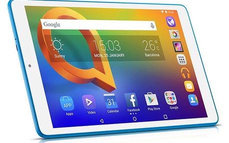 """Dotykový tablet ALCATEL A3 10"""" Wi-Fi 8079 bílý + dárek (8079-2DALE15)"""